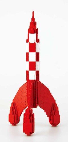 Nanoblock - Tintin - Tintin Rocket - 1100pcs Set