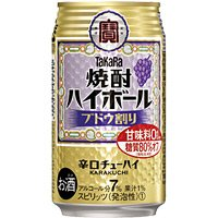 宝 焼酎ハイボール ぶどう割り 下町缶 350ml 缶 350ML × 24缶