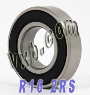 R16-2RS Sealed Bearing 1 x 2 x 1/2 inch Ball Bearings (2 X 1 1 2 Bushing compare prices)