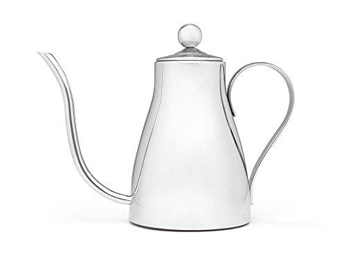 Bredemeijer 5 Cup (40 oz) Polished Stainless Steel Kettle With Gooseneck