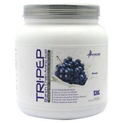 Metabolic Nutrition Tri-Pep BCAA 400 gm (40 servings), BCAA'S (Grape)