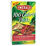100 Calorie Pack Dark Chocolate Cocoa Roast Almonds .63 oz Packs 7 Packs/Box