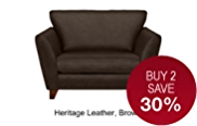 Barletta Loveseat - Leather
