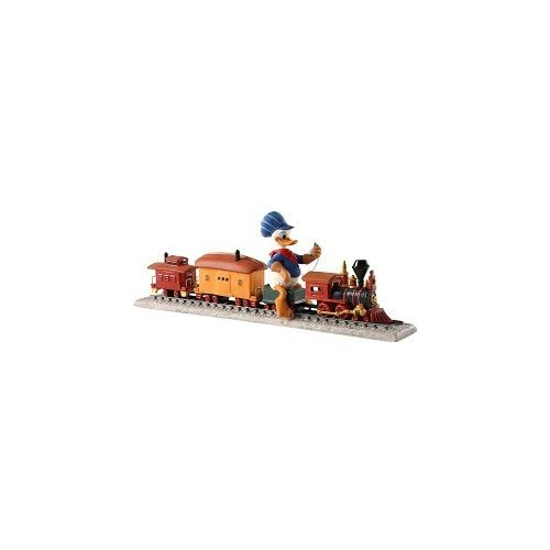 Amazon.com: WDCC Out of Scale Donald Duck on Train Backyard Whistle