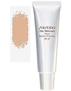 Shiseido The Skincare Tinted Moisture Protection Sunscreen for Unisex SPF 20, Medium, 2.1 Ounce