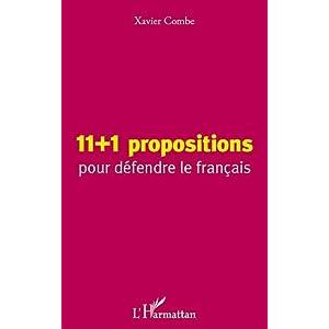 11+1 propositions pour défendre le français