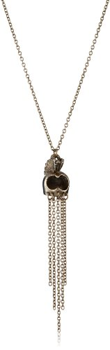 Low Luv by Erin Wasson 14k Gold-Plated Hawaiian Warrior Mask Necklace