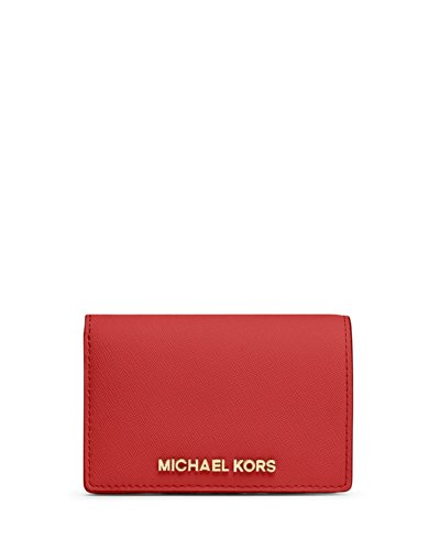 Michael Kors Jet Set Travel Medium Slim Wallet Mandarin