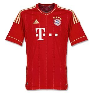 11-12 Bayern Munich Home Jersey
