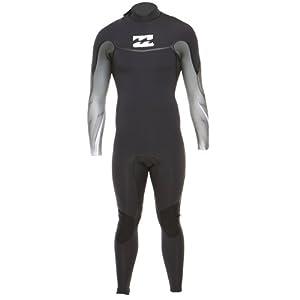 Billabong Men's Revolution 3x2 BZ Long Sleeve Wetsuit - Black, Small