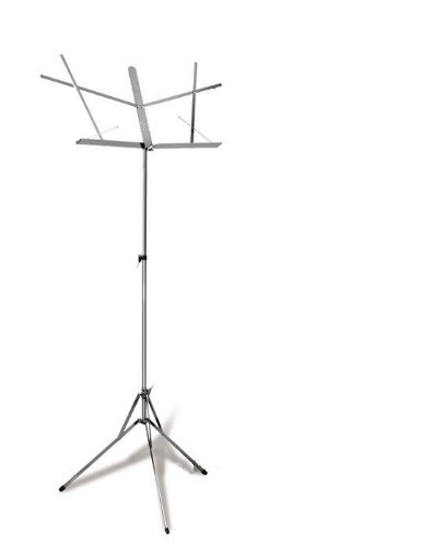 Hamilton Folding Stand, Chrome, 2 section (Music Stands Portable compare prices)