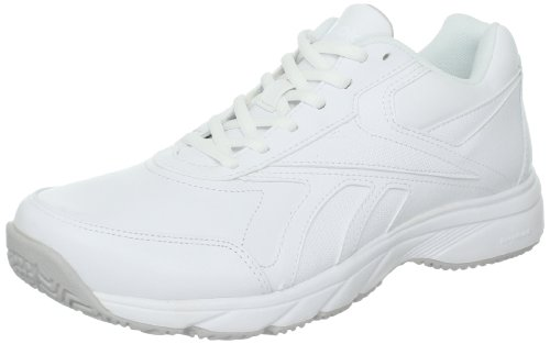Reebok Women's Work N Cushion Walking Shoe,White,9 M US