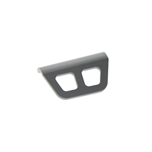 GPM Racing Rear Bumper for 1:10 Associated B44.2, Grey - 1