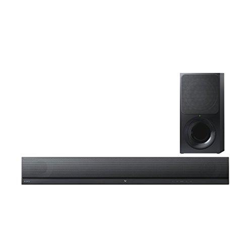 Sony HT-CT390 Soundbar 2.1 Canali, 300 W, Subwoofer Wireless, Bluetooth, NFC, USB, Nero