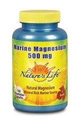 Marine Magnesium Nature's Life 100 VCaps
