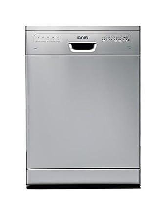 Ignis LPA58EG/SL Lave-vaisselle 49 dB Argent