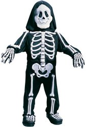 WMU - Toddler Costume: Skelebones- 3T/4T