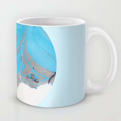 Society6 - Ice Cold Marble Mug By Maya Littman