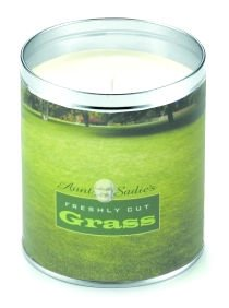 Freshly Cut Grass Candle by Aunt Sadie's (Lawn Image)
