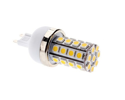 Factop Led Corn Bulb 85-265V G9 7W 36X5050 Smd 700-750Lm 2700-3200K Warm White Light