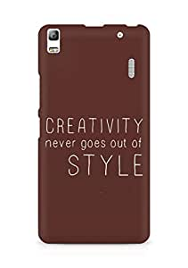 AMEZ creativity never goes out of style Back Cover For Lenovo K3 Note