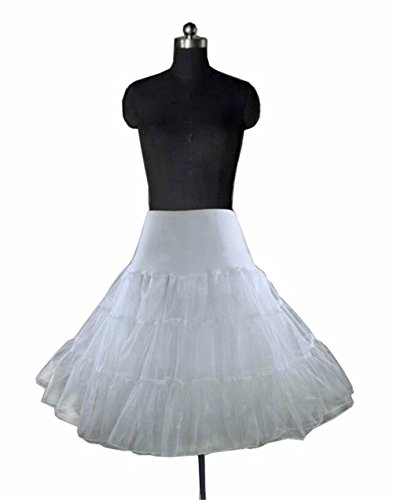 Miranda White Swing Vintage Rockabilly Tutu Fancy Petticoat