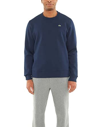 Lacoste GLC Classic Crew Neck Fleece Sweatshirt by Lacoste