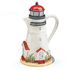 Buy Coastal Light Lighthouse Teapot For Kitchen Decor And Lighthouse Enthusiast
