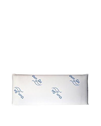Euro Home Almohada Visco Gel Blanco 75×35 cm