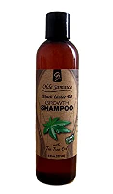 "Jamaican Black Castor Oil ""Sulfate-free"" and ""Paraben-free"" Growth Shampoo - 8 Fl Oz"