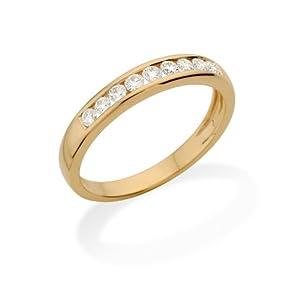 Miore - MC232YP - Bague Femme - Or jaune 750/1000 (18 carats) - Diamant- T 56