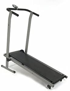 Stamina InMotion Manual Treadmill (Pewter Grey, Black)