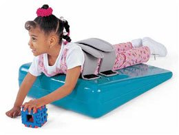 """Tumble Forms 2 Deluxe Strap Wedges 4""""H X 20""""W X 22""""L - Incline Angle 12.5° - Model 2779A front-928058"""