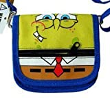 Nick Jr Spongebob Squarepants Wallet with Strap - Spongebob Mini Purse [Apparel]