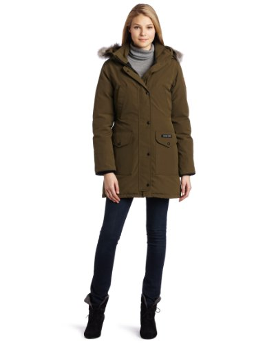 Canada Goose Women'S Trillium Parka,Military Green,Small