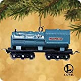 31O6u1v%2B6ML. SL160  Hallmark Keepsake Ornament Lionel Blue Comet 400T Oil Tender Train, 2002