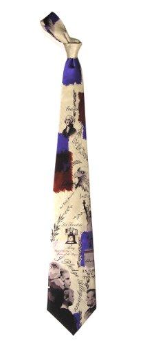 mens-100-silk-patriotic-pledge-of-allegiance-tie-necktie-neckwear