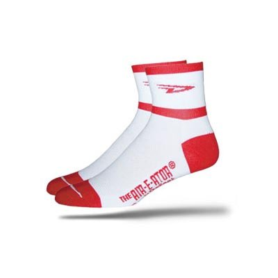 Buy Low Price DeFeet AirEator 2.5in D Team Red Cycling/Running Socks – AIRDTR (B000NOGWS2)