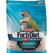 Kaytee Forti Diet Pro Health Food for Conures/Lovebirds, 25-Pound