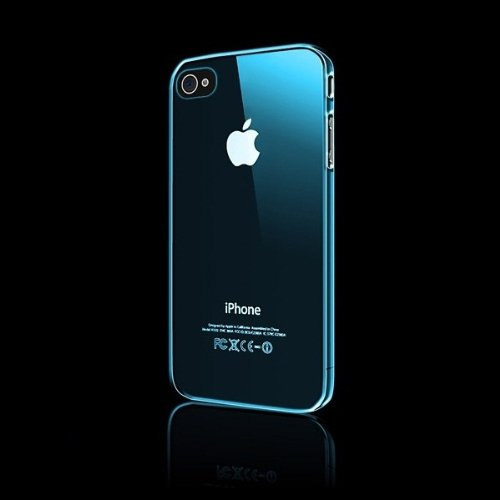 CAZE Zero 5(0.5mm)UltraThin for iPhone 4/4S Blue 【世界最薄ケース】