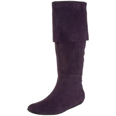 Rockport Women's Amelia Boot,Eggplant,5 M US