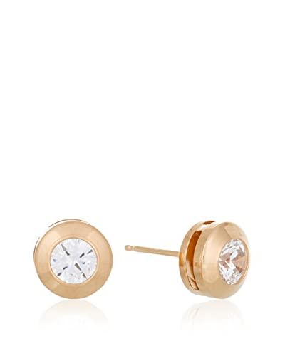 Gold & Diamonds Pendientes oro rosa 18 ct