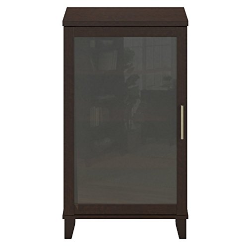 Audio Cabinet With Glass Doors Home Furniture Design