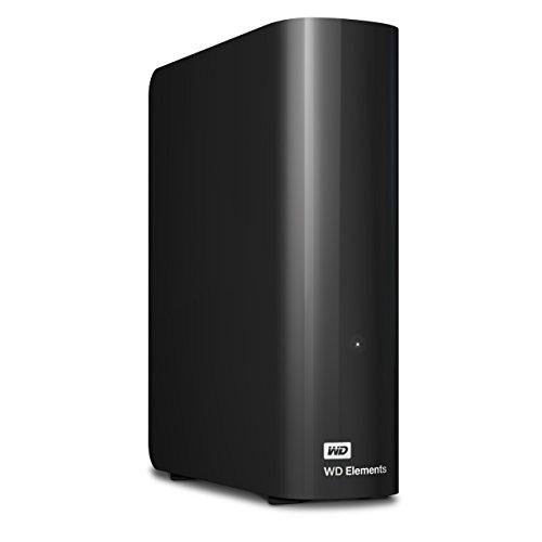 WD Elements Desktop externe Festplatte 5TB (8,9 cm (3,5 Zoll), 5400rpm, 64MB Cache, SATA III, USB 3.0) schwarz