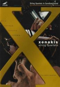 The JACK Quartet: Xenakis String Quartets Volume 10 [DVD]