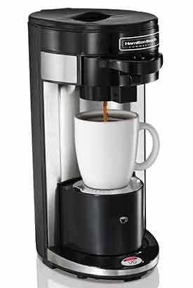 Hamilton Beach Hdc300 Flexbrew® Single-Serve Commercial-Grade Coffeemaker With 4 Free Javapodz