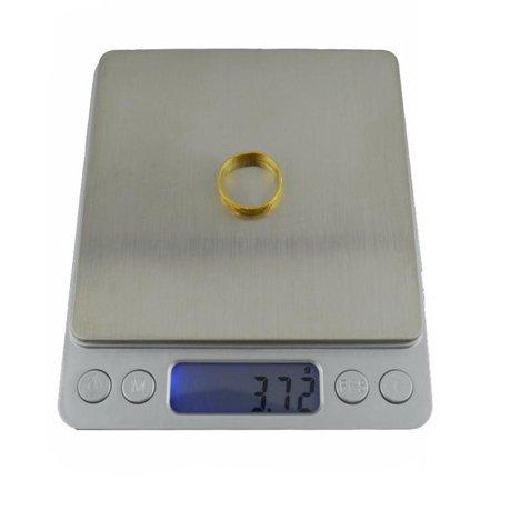 Balance de précision Pro 0.1g Max 2000g / 2 kg - Taille XL - avec 2 plateaux de pesée - Starke Media (Precison 0.1G / Max 2 Kg)