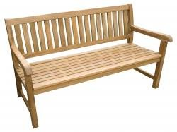 ZEBRA Lexington Landhausbank Teak 4-Sitzer