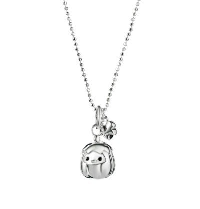 Neoglory Fine Jewelry Pumpkin Pendants Necklace Premier Designer 925 Sterling Silver Necklaces Rhinestones for Women 2013 New Arrive
