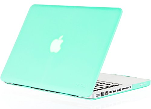 Kuzy - MINT GREEN 13-inch Ultra Slim Rubberized Hard Case Light Weight Matte Cover for MacBook Pro 13.3
